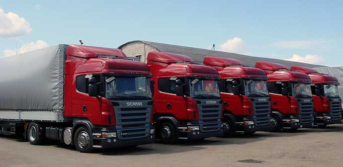 More than 380 trucks